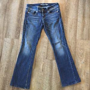 American Eagle Original Boot Cut Jeans Stretch